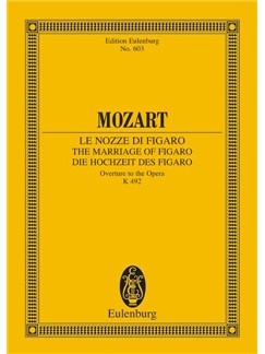 W.A. Mozart: Overture - The Marriage Of Figaro (Eulenburg Miniature Score) Books | Orchestra
