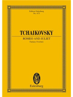 Tchaikovsky: Romeo And Juliet Fantasy Overture Study Score Books | Orchestra