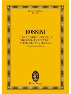 Giacchino Rossini: Barber Of Seville Overture (Eulenburg Edition) Books | Orchestra