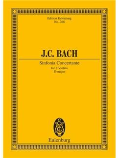 J.C. Bach: Sinfonia Concertante In E Flat Major Books   Violin, Orchestra