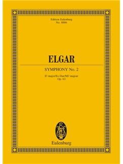 Edward Elgar: Symphony No.2 In E Flat Op.63 (Eulenburg Miniature Score) Books | Orchestra