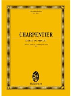 Charpantier: Messe De Minuit Study Score Books | Choral