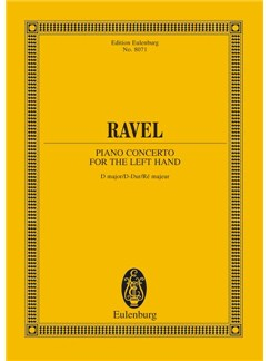 Maurice Ravel: Piano Concerto For The Left Hand In D Major Books | Piano, Orchestra