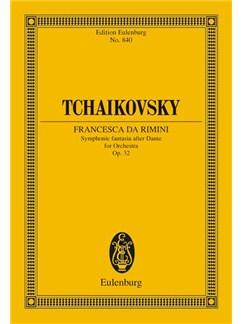 Tchaikovsky: Francesca Da Rimini Op.32 (Eulenburg Miniature Score) Books | Orchestra