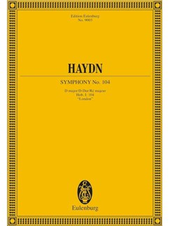 "Joseph Haydn: Symphony No. 104 In D Major ""Salomon"" Hob. I: 104 Books 