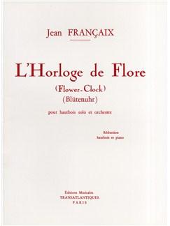 Jean Francaix: L'Horloge De Flore Livre | Hautbois, Accompagnement Piano