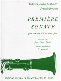 François Devienne: Première Sonate Books | Clarinet, Piano Accompaniment