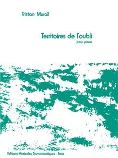 Tristan Murail: Territoires De l'Oubli Books | Piano