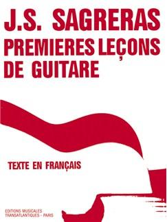 Julio Sagreras: Premières Leçons De Guitare Livre | Guitare