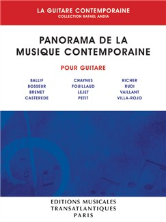 Rafaël Andia: Panorama De La Musique Contemporaine Books | Guitar
