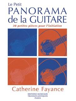 Catherine Fayance: Le Petit Panorama De La Guitare Livre | Guitare