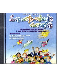 Bernard Davois: Les Cerfs Volants Écervelés. CD CDs | Voice, Piano Accompaniment