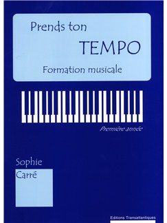 Sophie Carré: Prends Ton Tempo Books | All Instruments
