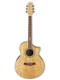 Ibanez: EW20ASE Electro-Acoustic Guitar - Quilted Ash Instruments | Electro-Acoustic Guitar
