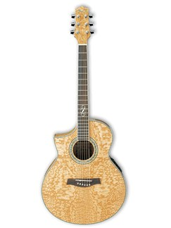 Ibanez: EW20LASE Left Handed Electro-Acoustic Guitar - Quilted Ash Instruments | Left-Handed Guitar