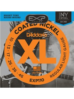 D'Addario: EXP110 Nickel Wound Guitar Strings - Light (10-46)  |