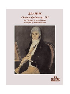 Johannes Brahms: Clarinet Quintet Op.115 - Clarinet In A/Piano Books | Clarinet, Piano Accompaniment