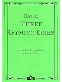 Erik Satie: Three Gymnopedies (Flute) Books | Flute, Piano Accompaniment