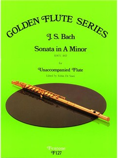 J.S. Bach: Sonata In A Minor BWV1013 Books | Flute