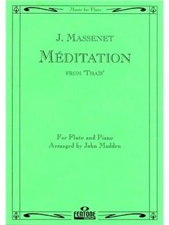 Jules Massenet: Meditation From Thais (Flute) Books | Flute, Piano Accompaniment