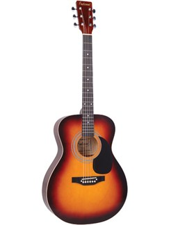 Falcon: F300SB Folk Acoustic Guitar - Tobacco Sunburst Instruments | Acoustic Guitar