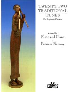 22 Traditional Tunes For Beginner Flautists Books | Flute, Piano Accompaniment