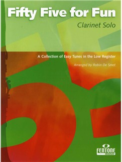 Fifty Five For Fun (Clarinet) Books | Clarinet