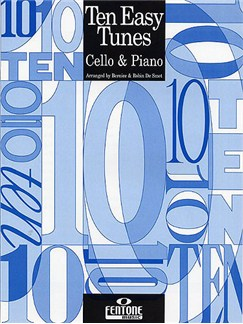 Ten Easy Tunes - Cello And Piano Books | Cello, Piano Accompaniment
