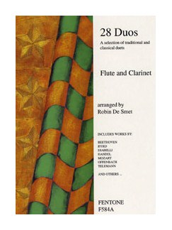 Twenty Eight Duos For Flute And Clarinet Books | Flute, Clarinet