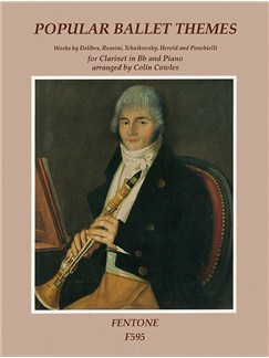 Popular Ballet Themes For Clarinet Books | Clarinet, Piano Accompaniment