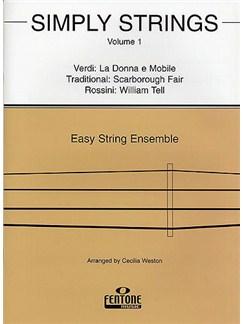 Simply Strings - Volume 1 Books | String Ensemble
