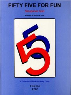 Fifty Five For Fun (Saxophone) Books | Saxophone
