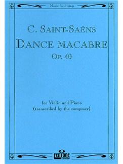 Camille Saint-Saens: Danse Macabre Op.40 (Violin/Piano) Books | Violin, Piano Accompaniment
