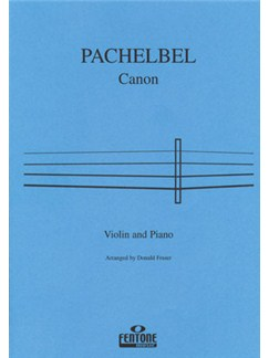 Johann Pachelbel: Canon (Violin/Piano) Books | Violin, Piano Accompaniment