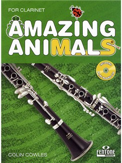 Colin Cowles: Amazing Animals For Clarinet Books and CDs | Clarinet