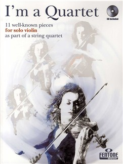 I'm A Quartet - Violin (Book And CD) Books and CDs | Violin
