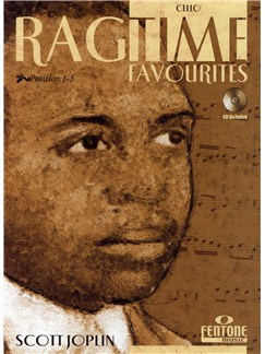 Scott Joplin: Ragtime Favourites (Cello) Books and CDs | Cello