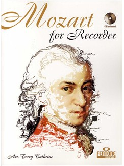 Mozart For Recorder Books and CDs | Recorder