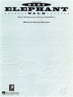 Baby Elephant Walk (Hatari!) (Piano Solo) Books | Piano
