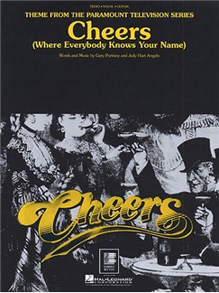 Portnoy/Angelo: Cheers (Where Everybody Knows Your Name) Books | Piano, Voice & Guitar