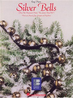 Jay Livingston: Silver Bells (Easy Piano) Books | Piano, Voice and Guitar (Chord Symbols)