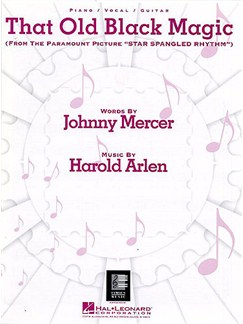 Harold Arlen: That Old Black Magic (PVG) Books | Piano, Voice And Guitar (Boxed Chord Symbols)