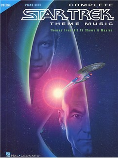 Complete Star Trek Theme Music (Third Edition) Books | Piano & Guitar, with chord symbols