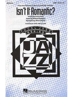 Richard Rodgers: Isn't It Romantic? (SATB) Books | Soprano, Alto, Tenor, Bass, Piano
