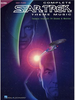 Complete Star Trek Theme Music: Easy Piano Books | Piano