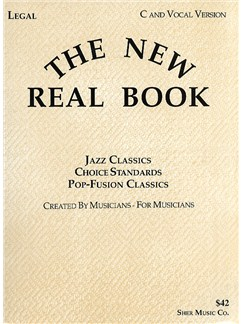 The New Real Book Volume 1 - C Books | C Instruments, Voice