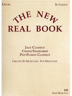 The New Real Book Volume 1 - B Flat Version Books | B Flat Instruments