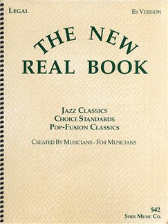 The New Real Book Volume 1 - E Flat Version Books | E Flat Instruments