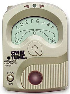 Qwik Tune: QT12 Chromatic Tuner And Pitchpipe  | All Instruments