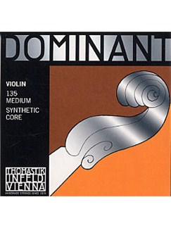Dominant: 135 Medium Violin String Set  | Violin
